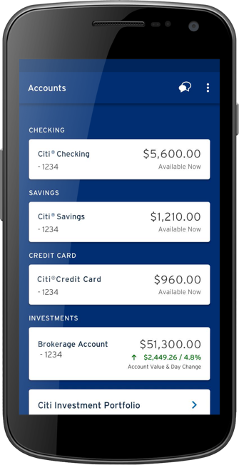 Citi Mobile App for Android