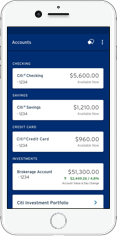 Citi Mobile App for iPhone