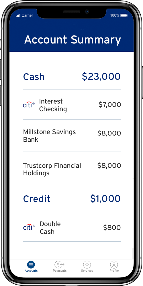Citi Mobile & Online Banking Digital Services - Citibank