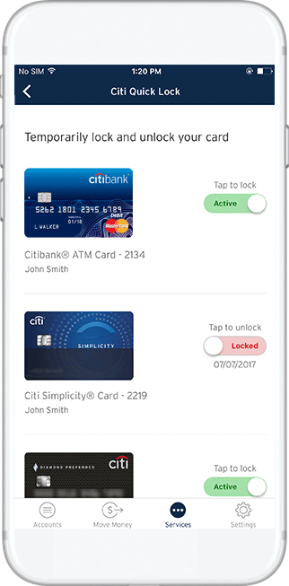 Citi credit card customer service credit card.