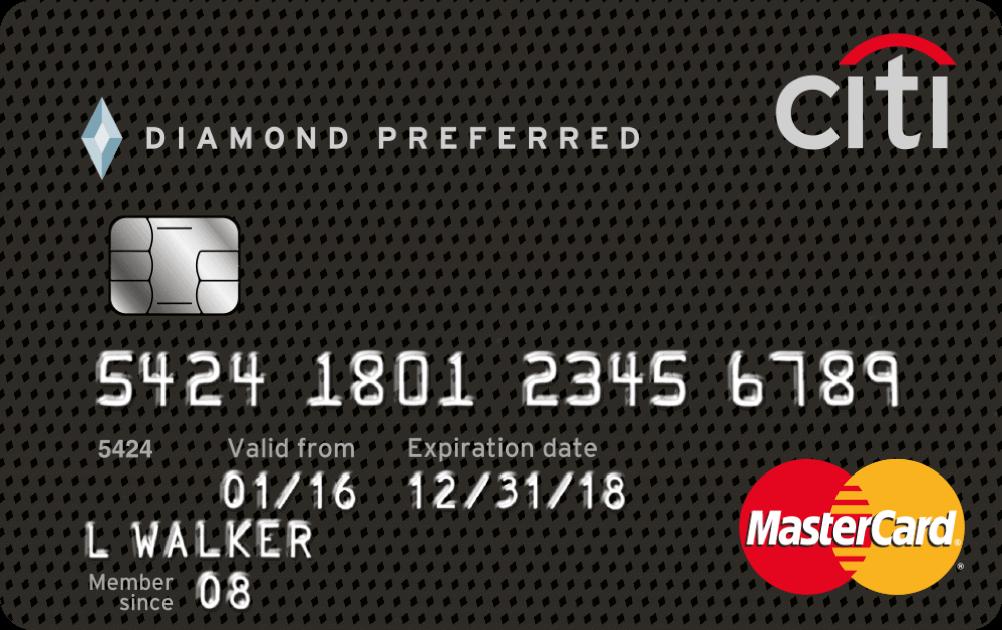 Image result for Citi Diamond Preferred