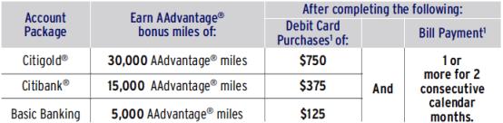 Earn AAdvantage bonus miles