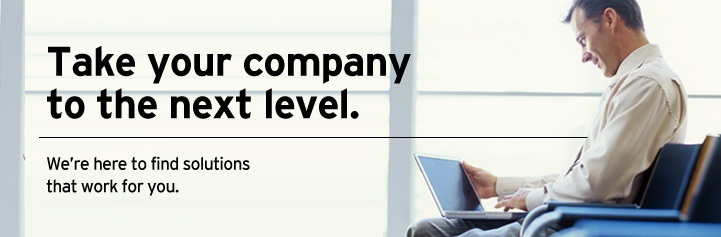 Take your company to the next level.  We're here to find solutions that work for you.