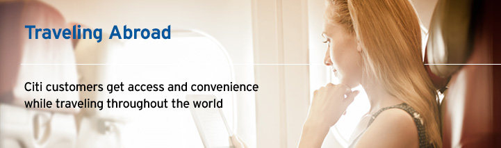 Travel Abroad with Citi.