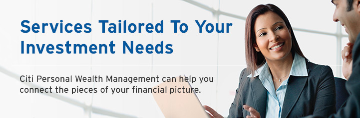 Services Tailored To Your Investment Needs.